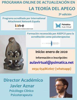 Programa online de actualización en la teoría del apego