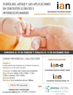 Teoría del apego y sus aplicaciones en contextos clínicos interdisciplinarios